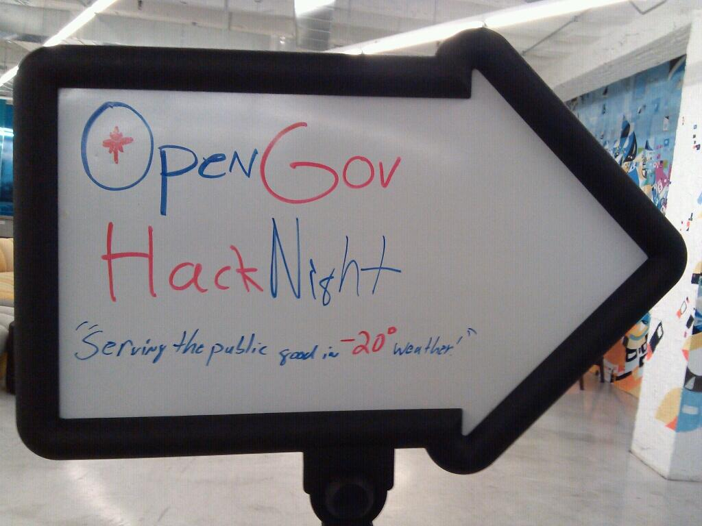 Open Gov Hack Night: 2014 Year in Review