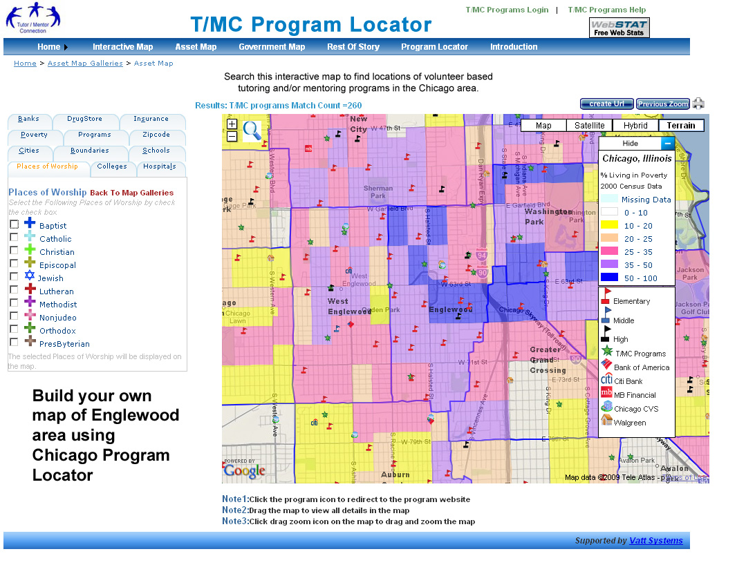 Tutor Mentor Searchable Program Locator (2016)