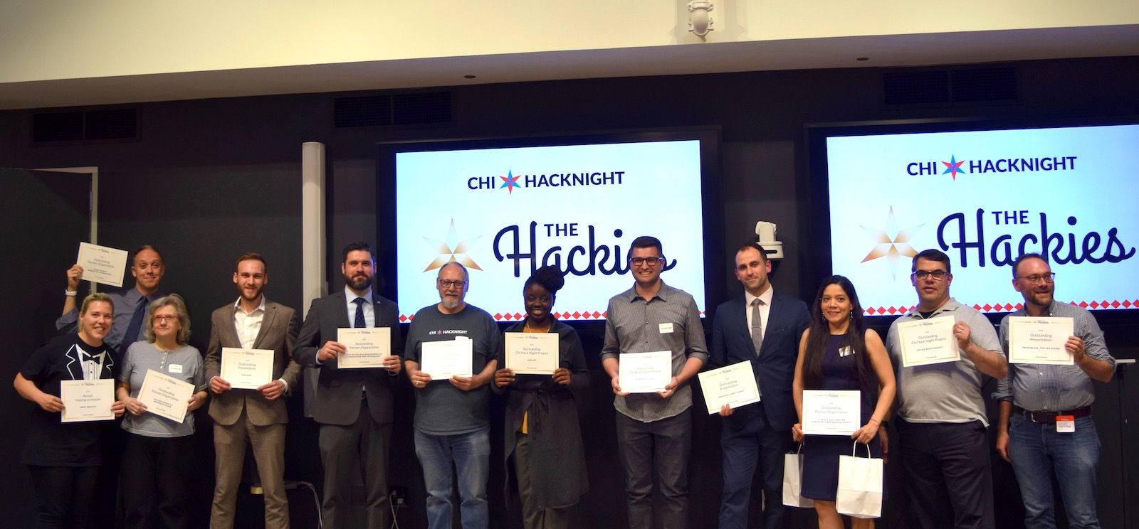 The 2018 Hackies Winners