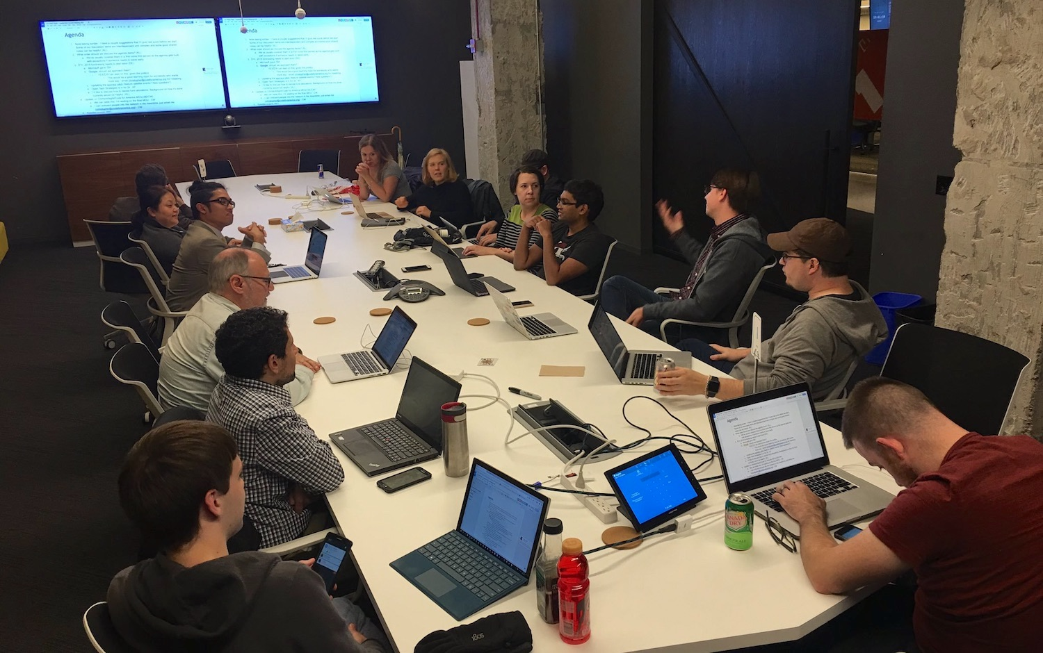 Chi Hack Night Leadership Council, Oct 24, 2017