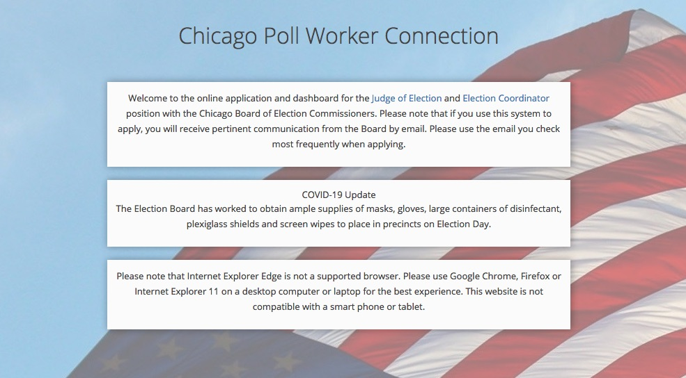Chicago Poll Worker Connection
