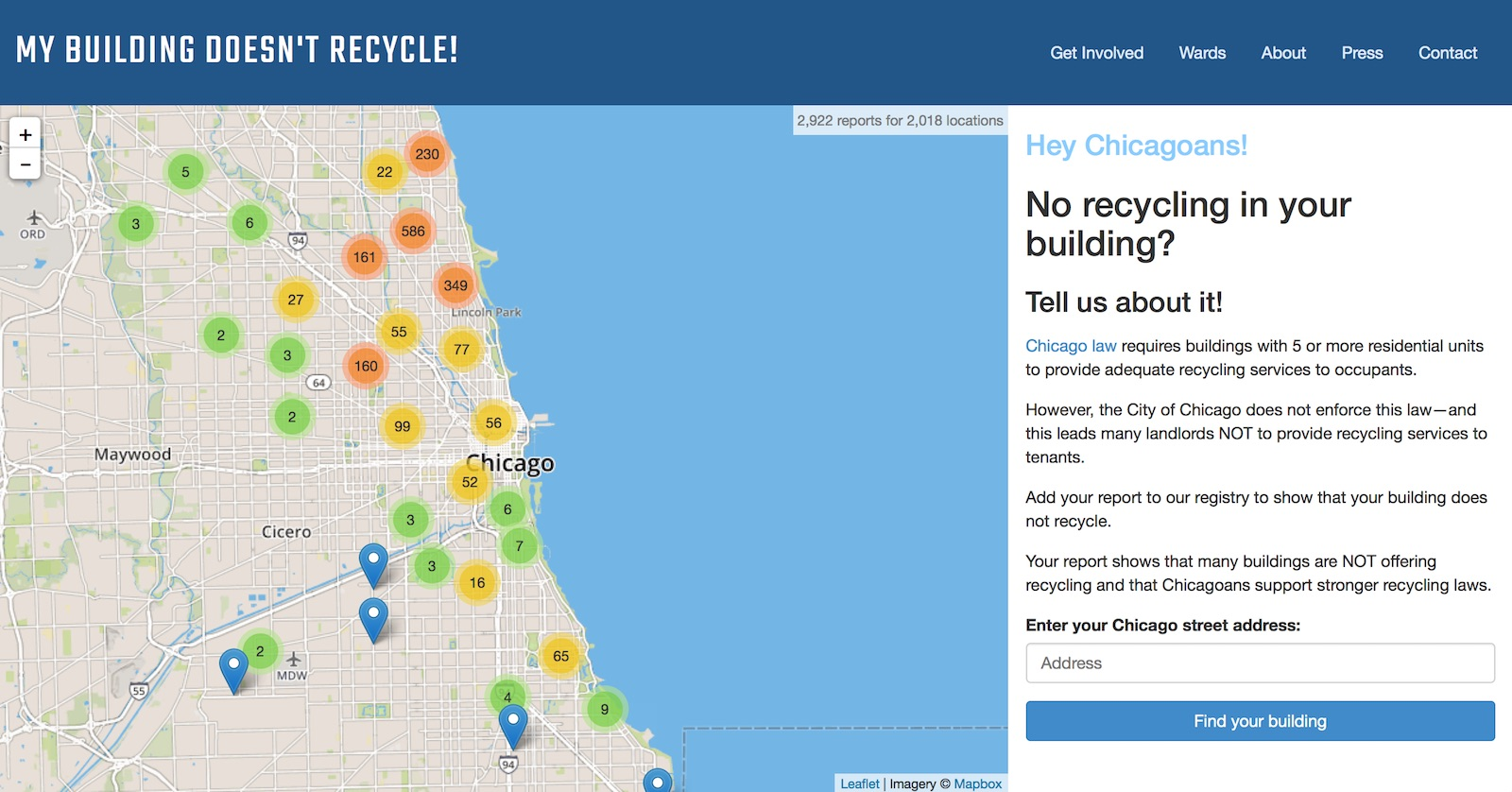 Help us pass Chicago's new recycling ordinance!